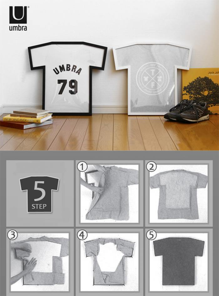 фотография Рамка для футболки t-frame черная  - 3150 р.