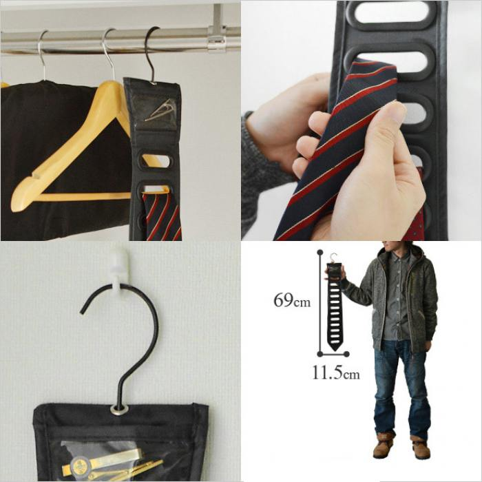 фотография Органайзер для галстуков black tie черный  - 750 р.