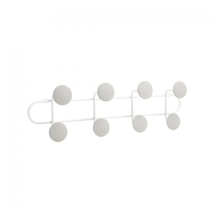 фотография Вешалка надверная на 8 крючков yook белый/серый  - 2190 р.