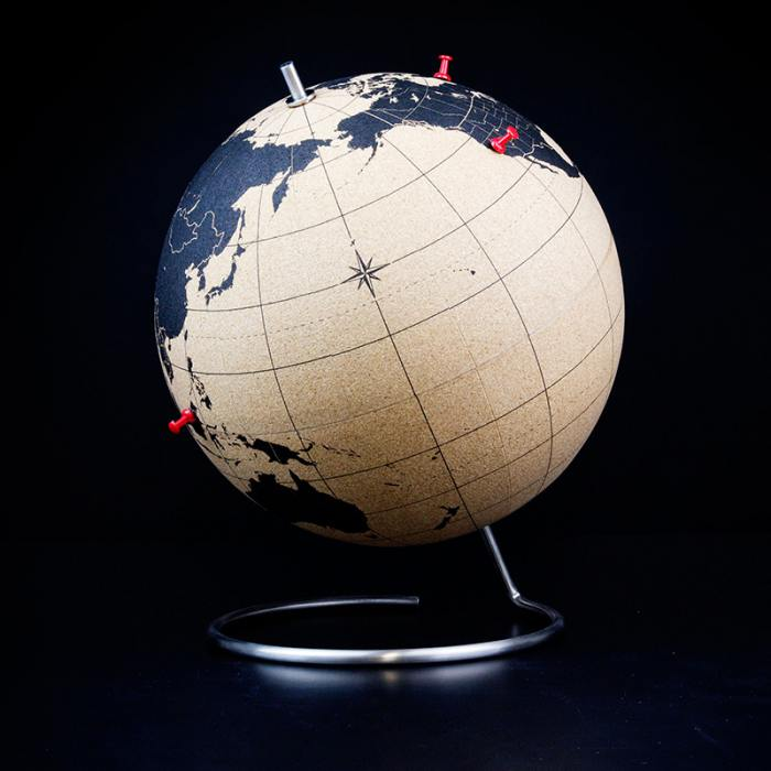 фотография Пробковый глобус для путешественников  - 8890 р.