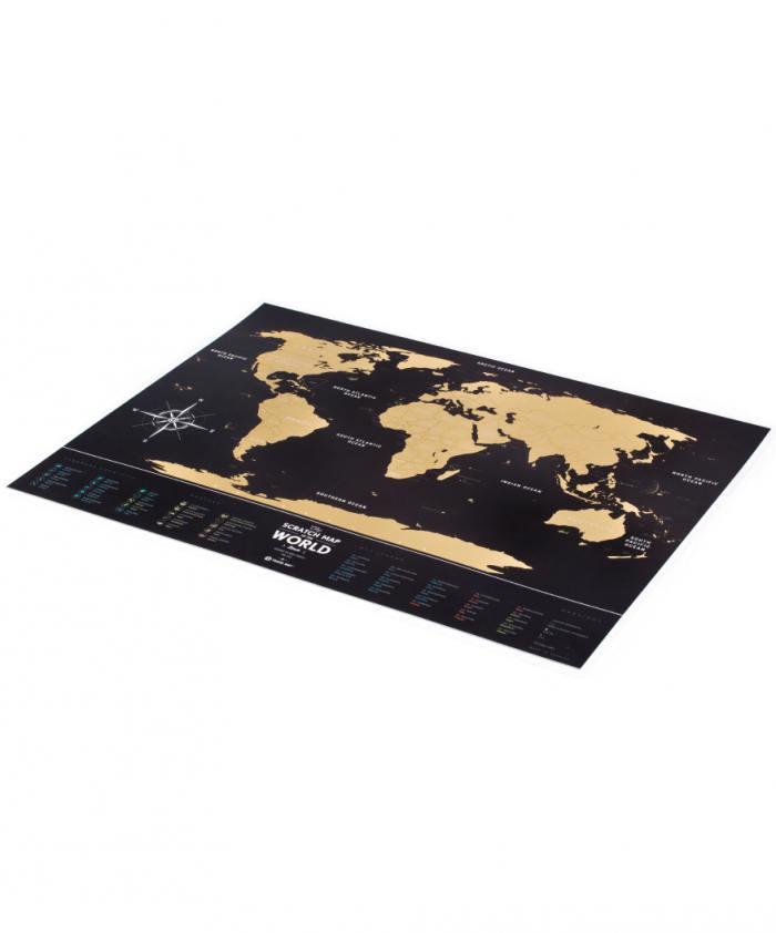 фотография Скретч-карта мира Travel Map Black  - 2800 р.