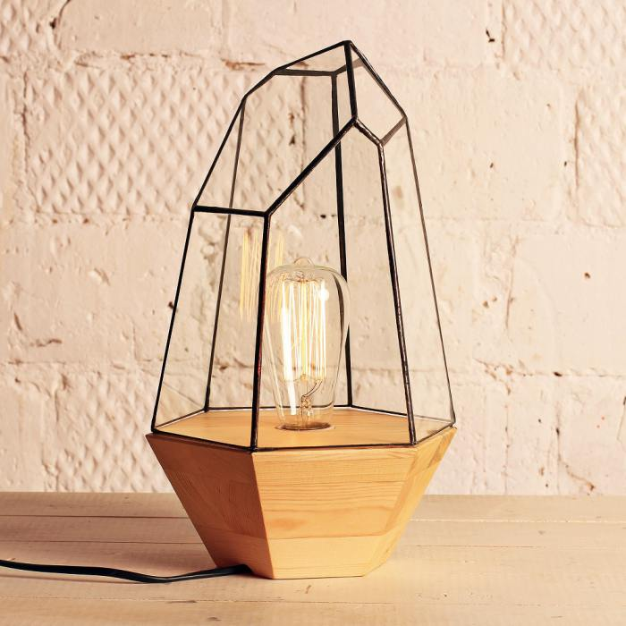 фотография Светильник с ретро-лампочкой