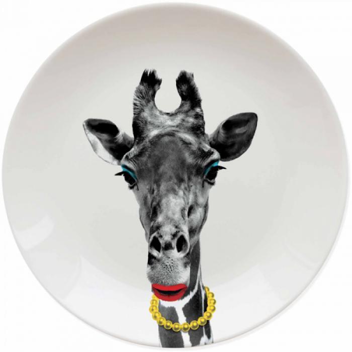 фотография Креативная тарелка Wild Dining жираф  - 1100 р.