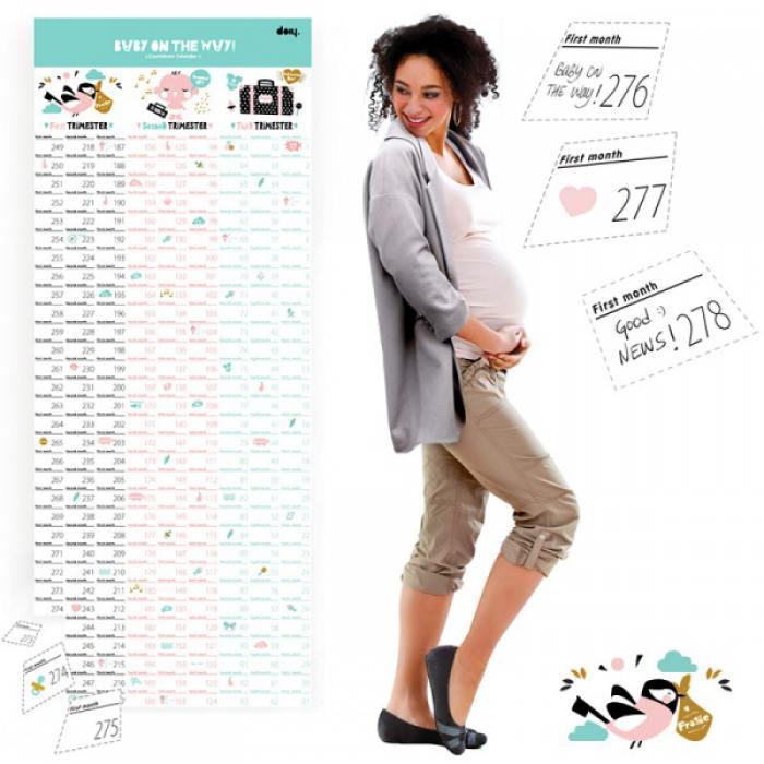 фотография Календарь для беременных Baby on the way  - 1430 р.