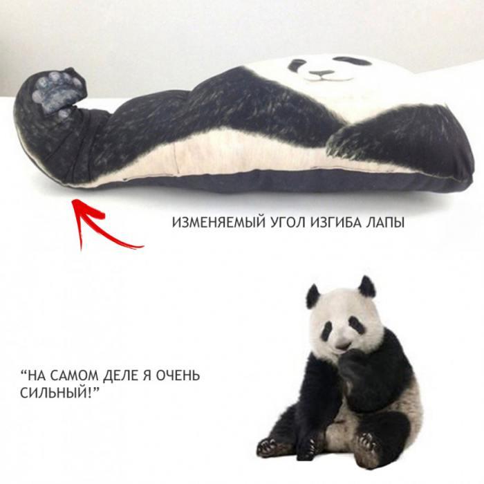 фотография Подушка-Обнимашка Панда  - 2450 р.
