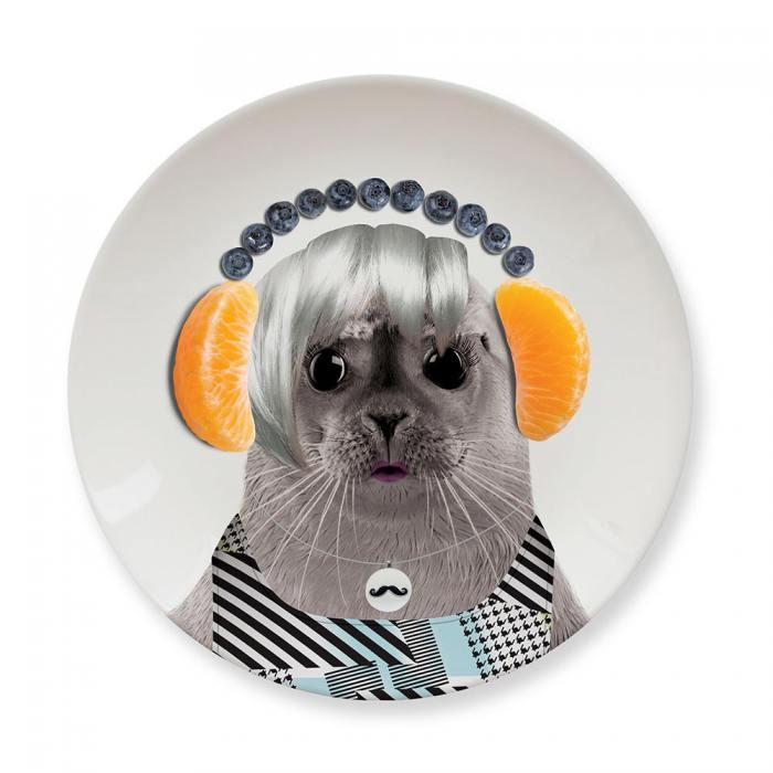 фотография Обеденная тарелка Baby Seal  - 890 р.