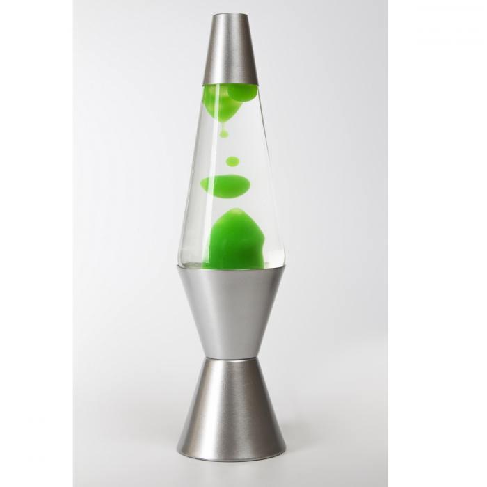 фотография Лава-лампа 36см МТ Зелёная/Прозрачная (Воск)  - 2000 р.
