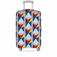 фото Чехол для чемодана triangles средний