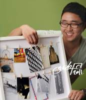 фотография Панно с зажимами для 12 фотографий clothesline белое  - 2355 р.