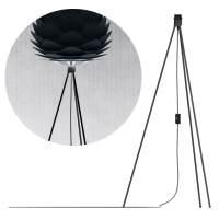 фото Штатив черный для светильника напольный, длина провода 3 м