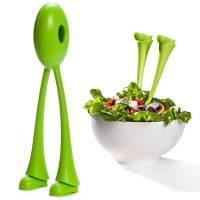 фото Ложки для салата jumpin' jack зеленые