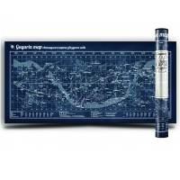 фото Gagarin Map светящаяся карта звездного неба