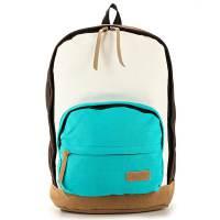 фото Городской рюкзак RYW (коричневый-голубой)