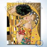 фото Картина по номерам Hobbart Г. Климт. Поцелуй