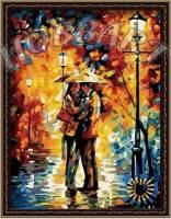 фото Картина по номерам Hobbart «Любовь под дождем»