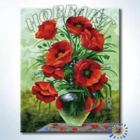 фото Картина по номерам Hobbart «Маковый»
