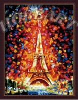 фото Картина по номерам Hobbart «Эйфелева башня»