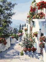 фото Картина по номерам Белоснежка «На юге Испании»