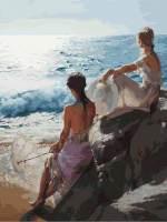 фото Картина по номерам Белоснежка «У самого синего моря»
