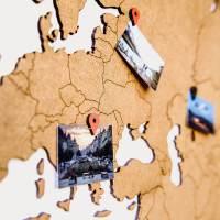 фото Пазл «Wall Decoration base» коричневый