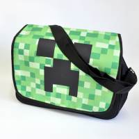 фото Сумка-почтальонка Крипер Minecraft