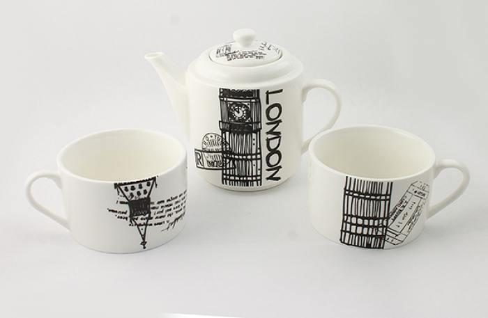 помешало чайник с картинками лондона располагается жилом доме