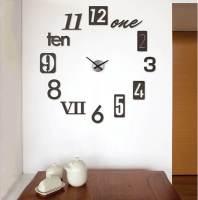 фото Часы настенные numbra черные