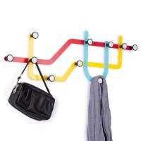 фото Вешалка subway разноцветная
