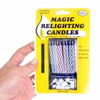 фото Магические незадуваемые свечи для торта