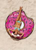 фото Покрывало пляжное strawberry donut