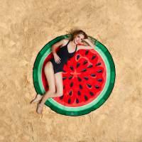 фото Покрывало пляжное watermelon