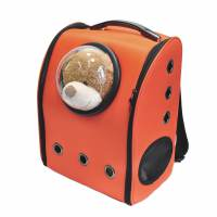 фото Рюкзак с иллюминатором, оранжевый