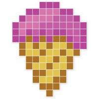 фото Магнитная мозаика «Мороженое»