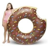 фото Надувной круг «Пончик в шоколадной глазури»