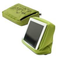 фото Подушка-подставка с карманом для планшета hitech 2 зеленая/черная