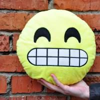 фото Подушка Emoji «Awkward Emoji» 27 см