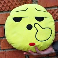 фото Подушка Emoji «Unhappy» 27 см