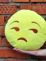фото Подушка Emoji «Unimpressed Emoji» 27 см