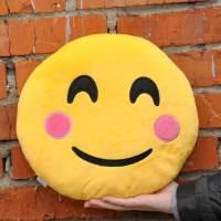 фото Подушка Emoji «Smiling Emoji» 27 см