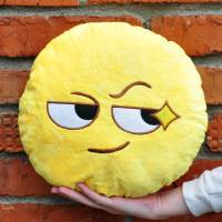 фото Подушка Emoji «Tricky face» 27 см