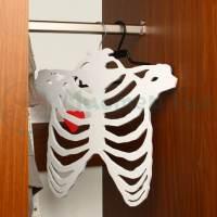 фото Вешалка Скелет в шкафу