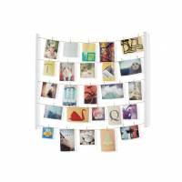 фото Панно с зажимами для 40 фотографий hangit белое