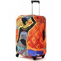 фото Чехол для чемодана Африка