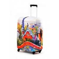 фото Чехол для чемодана экстрапрочный Гауди
