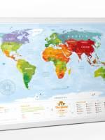 фото Интерактивная карта мира Travel Map «Kids Animals»
