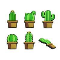 фото Кнопки канцелярские Cactus (5 шт)