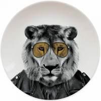 фото Креативная тарелка Wild Dining лев