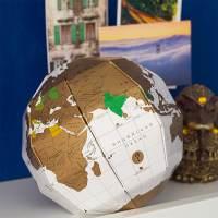 фото Глобус True world со стирающимся слоем