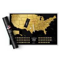 фото Скретч Карта Travel Map USA