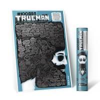фото Скретч-плакат 100 Дел Trueman Edition